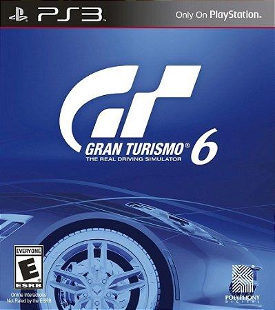 Gran Turismo 6 - Ps3 Mídia Física Usado