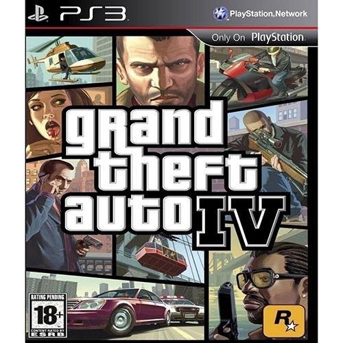 Gta 4 Grand Theft Auto Iv - Ps3 Mídia Física Usado