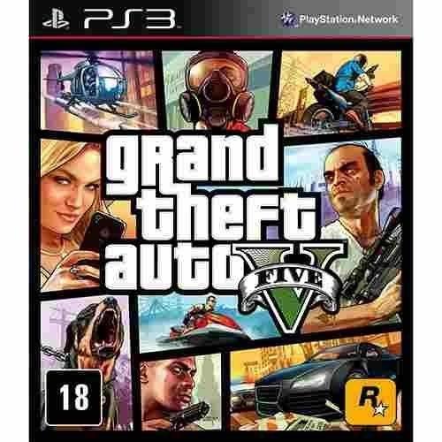 Gta 5 - Grand Theft Auto V - Ps3 Mídia Física Usado
