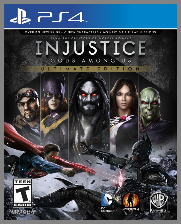 Injustice Ultimate Edition - PS4 Mídia Física Usado