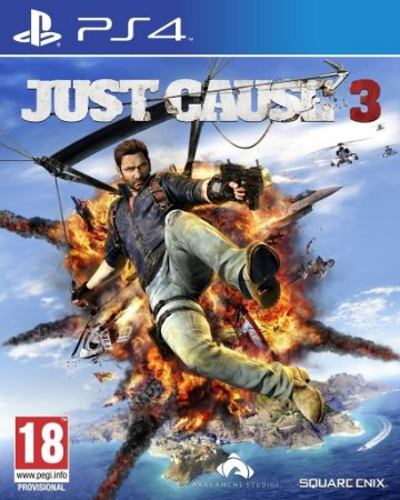 Just Cause 3 - PS4 Mídia Física Usado