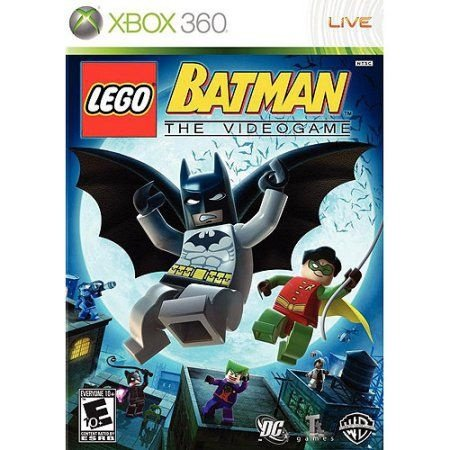 Lego Batman 1 - Xbox 360 Mídia Física Usado
