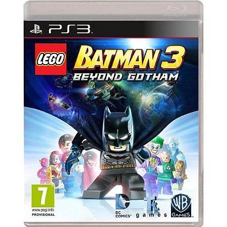 Lego Batman 3 Beyond Gotham - Ps3 Mídia Física Novo Lacrado