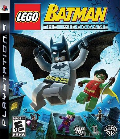 Lego Batman The Video Game - PS3 Mídia Física Usado