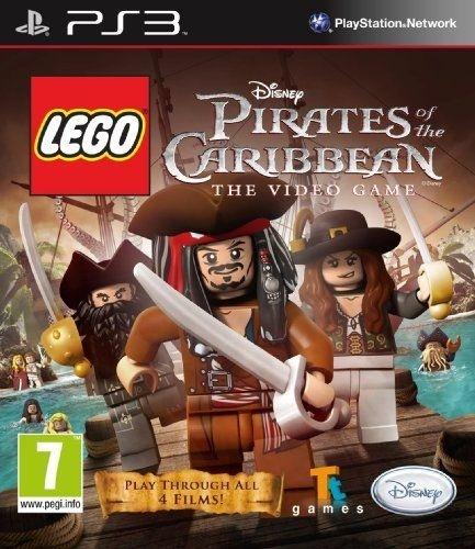 Lego Disney Pirates Of The Caribbean Ps3 Mídia Física Usado