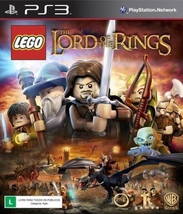 Lego O Senhor Dos Anéis - Ps3 Mídia Física Novo Lacrado