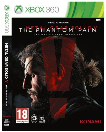 Metal Gear Solid The Phantom Pain - Xbox 360 Mídia Física Usado
