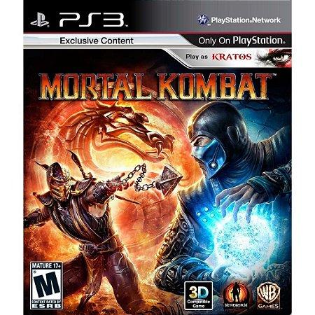 Mortal Kombat - PS3 Mídia Física Usado
