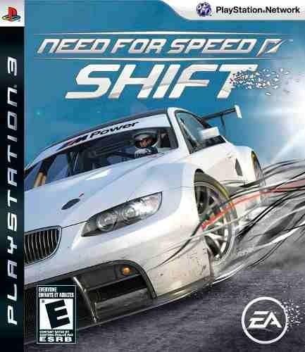 Need For Speed Shift Ps3 Mídia Física Usado