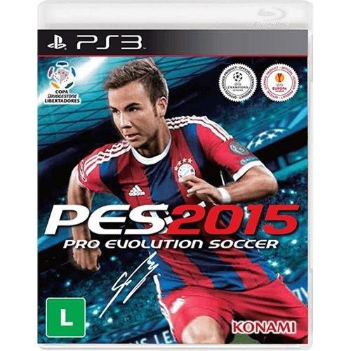 Pes Pro Evolution Soccer 2015 - Ps3 Mídia Física Novo Lacrado