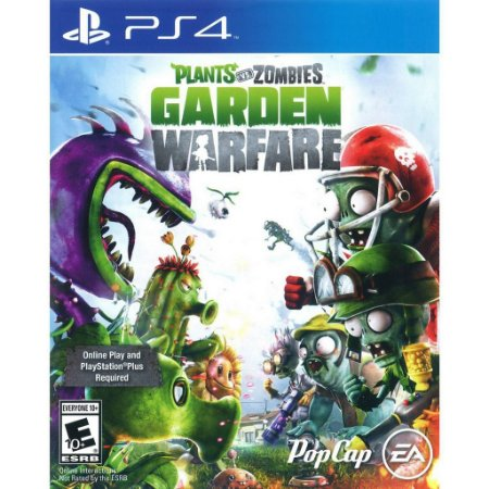 Plants vs Zombies Garden Warfare PS4 Midia Fisica Novo Lacrado