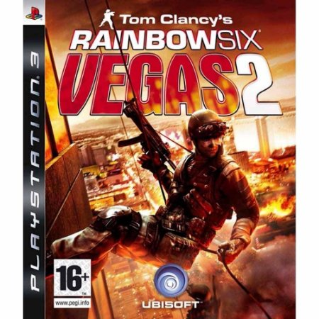 Rainbow Six Vegas 2 - Ps3 Mídia Física Usado