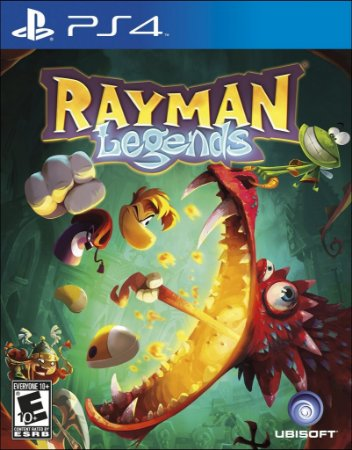 Rayman Legends - PS4 Mídia Física Usado