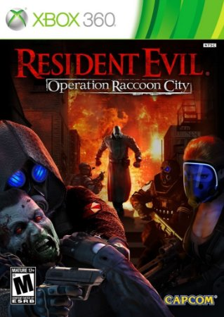 Resident Evil Operation Raccoon City - Xbox 360 Mídia Física Usado