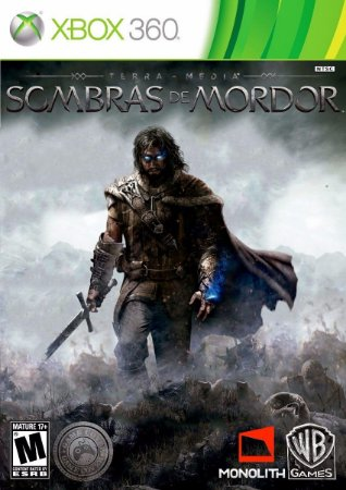 Sombras de Mordor - Xbox 360 Mídia Física usado