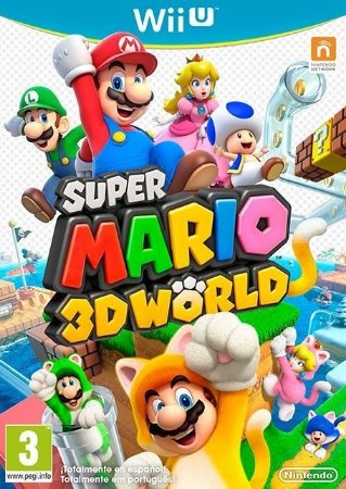 Super Mario 3D World - Wii U Mídia Física Usado