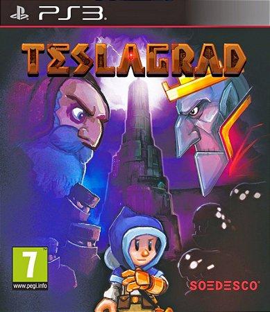 Teslagrad - PS3 Mídia Física Novo Lacrado