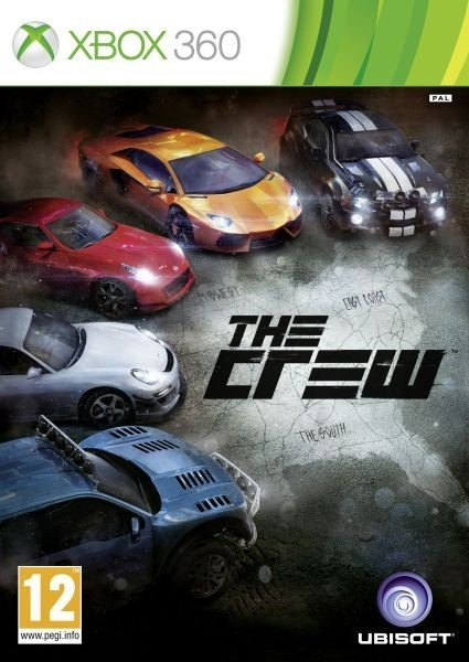 The Crew - Xbox 360 Mídia Física Novo Lacrado