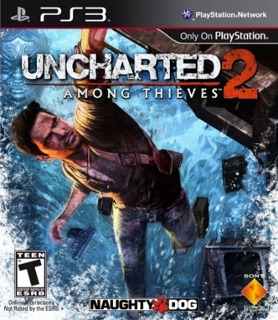 Uncharted 2 Among Thieves - Ps3 Mídia Física Usado