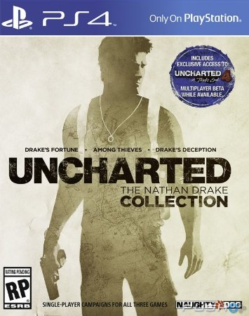 Uncharted Collection PS4 - Mídia Física - Usado