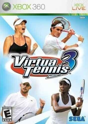 Virtua Tennis 3 - Xbox 360 Mídia Física Usado