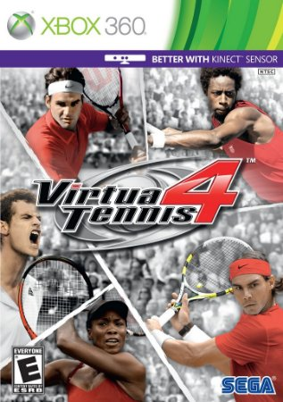 Virtua Tennis 4 - Xbox 360 Mídia Física Novo Lacrado