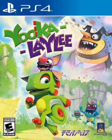 Yooka Laylee PS4 Mídia Física Usado