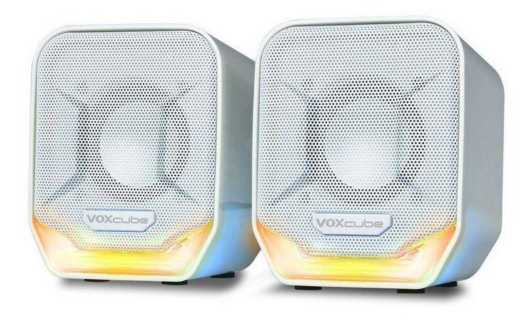Caixa de Som Voxcube VC-D360 Cores Variadas PC-Notebook