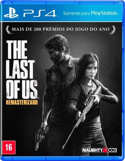 The Last Of Us - PS4 Mídia Física Usado