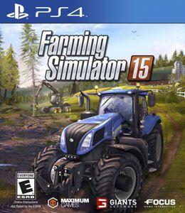 Farming Simulator 15 - PS4 Mídia Física Usado