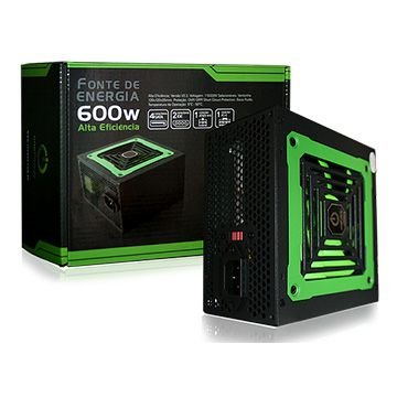 Fonte Gamer 600 Watts One Power