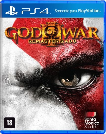 God Of War 3 Remasterizado - Ps4 Mídia Física Usado