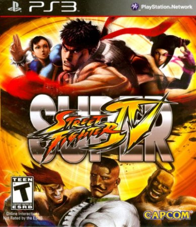 Super Street Fighter 4 PS3 Mídia Física Usado