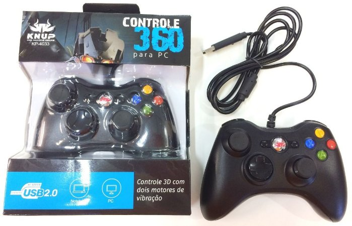 Controle 360 PC Knup KP-4033
