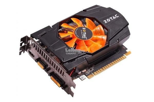 Placa de Vídeo Zotac Geforce GTX 650 1GB GDDR5 128 Bits ( Semi Novo )