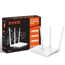 Roteador Wireless Tenda 300 Mbps 3 Antenas 5DBI F3
