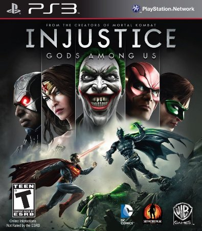 Injustice Gods Among US PS3 Usado