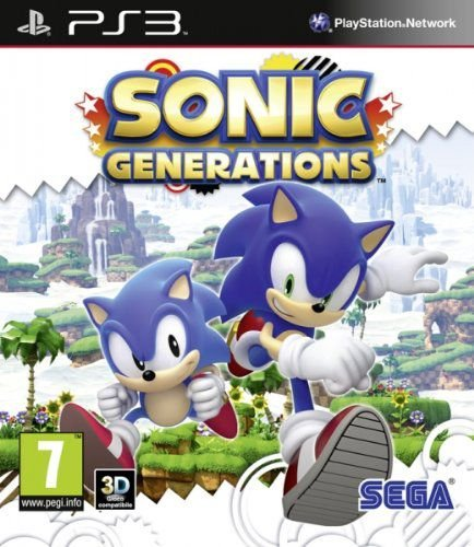 Sonic Generations PS3 Cover Usado