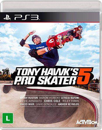 Tony Hawks Pro Skater 5 PS3 Novo Lacrado