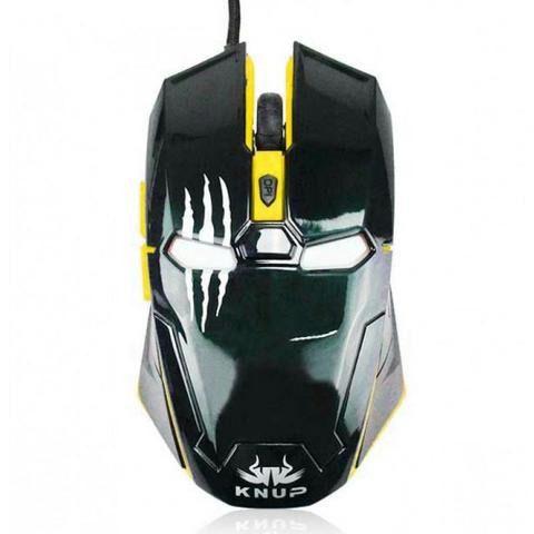 Mouse Gamer Pantera Negra