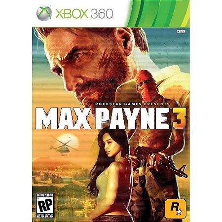 Max Payne 3 Xbox 360 Usado