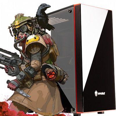 Computador Intervia Orion AMD Ryzen 2200G Quad Core 3.5Ghz + 8GB DDR4 + HD SSD 240GB + Ati Radeon Vega 8