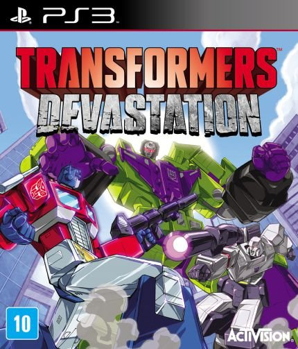 Transformers Devastation PS3 Novo Lacrado
