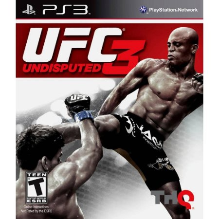 UFC Undisputed 3 PS# Usado