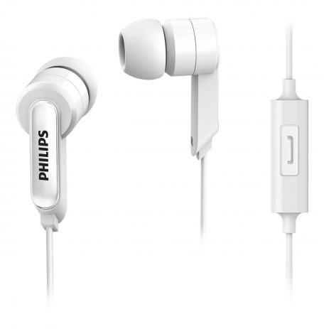 Fone de Ouvido Microfone Philips SHE1405WT/27 - Branco