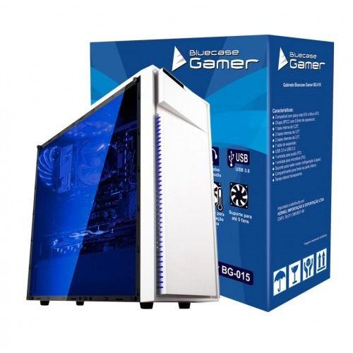 Gabinete Gamer Bluecase BG-015 Branco