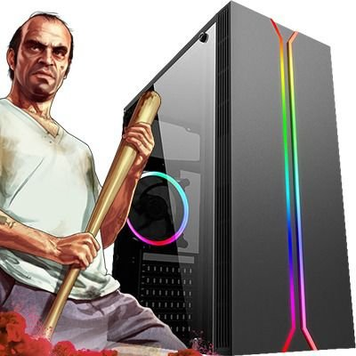 Computador Intervia Extreme2 AMD Ryzen 5 2600 Six Core 3.40 Ghz + 8GB DDR4 + HD 1TB + Nvidia Geforce GTX 1060 3GB DDR5