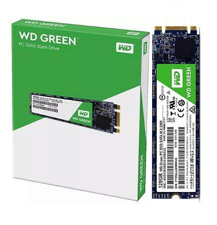 SSD Western Digital Green M.2 240GB Leituras: 545MB/s - WDS240G2G0B