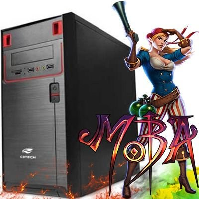 Computador Intervia  AMD Ryzen 2200G Quad Core 3.5Ghz + 8GB DDR4 + HD SSD 240GB + Ati Radeon Vega