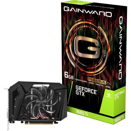 Placa de Vídeo Gainward GeForce GTX 1660TI 6GB GDDR6 - NE616600T018J9-161F